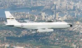 C-135E Argus over Sydney