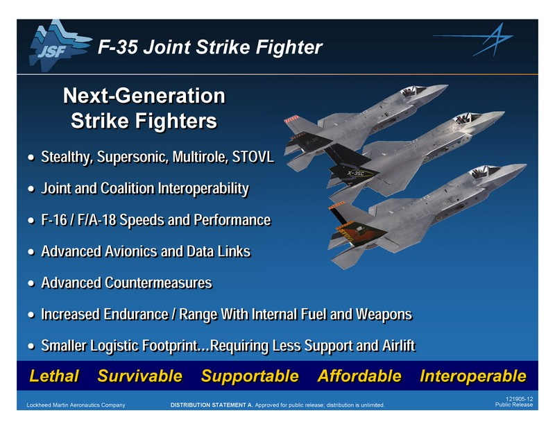 How does the F-35 JSF fly and fight? – The Aviationist