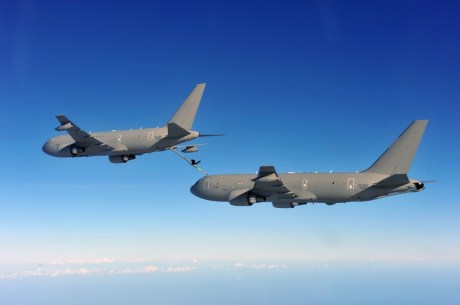 Quot Yes We Can Quot Kc 767 Refueling Another Kc 767 The