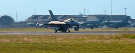 F-16 Aviano takeoff
