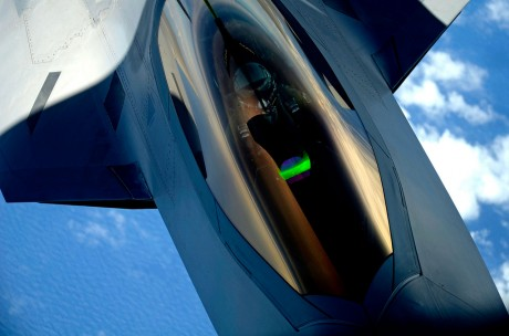 F-22 pilot