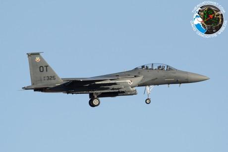 91-0325-OT. F-15E. 422TES. Nellis 25.02.2013