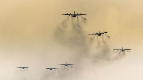 Smokey C-130s