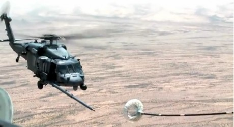 HH-60G refueling