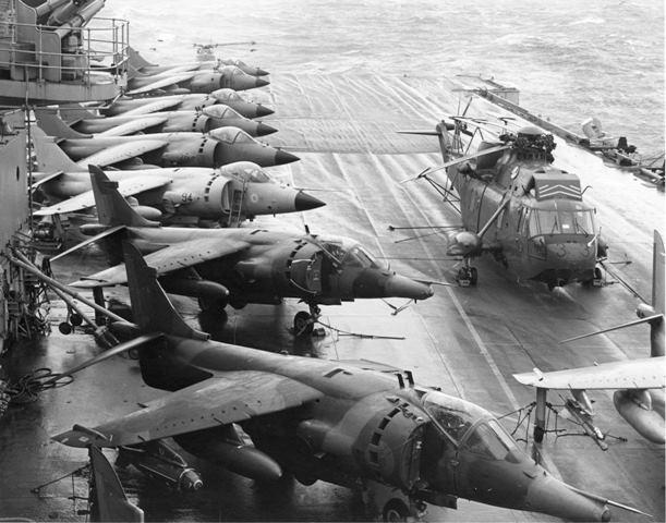 Harrier Falklands