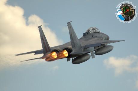 IAF F-15 take off