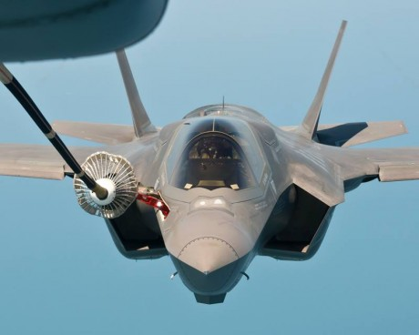 F-35B aerial refueling