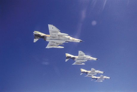 F-4 formation