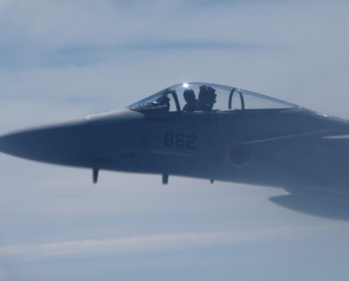 F-15J close up