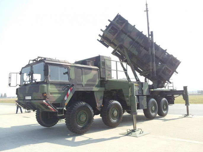 MIM-104D PAC 2 Patriot, Heavy Anti Aircraft Surface to Air Missile Launcher