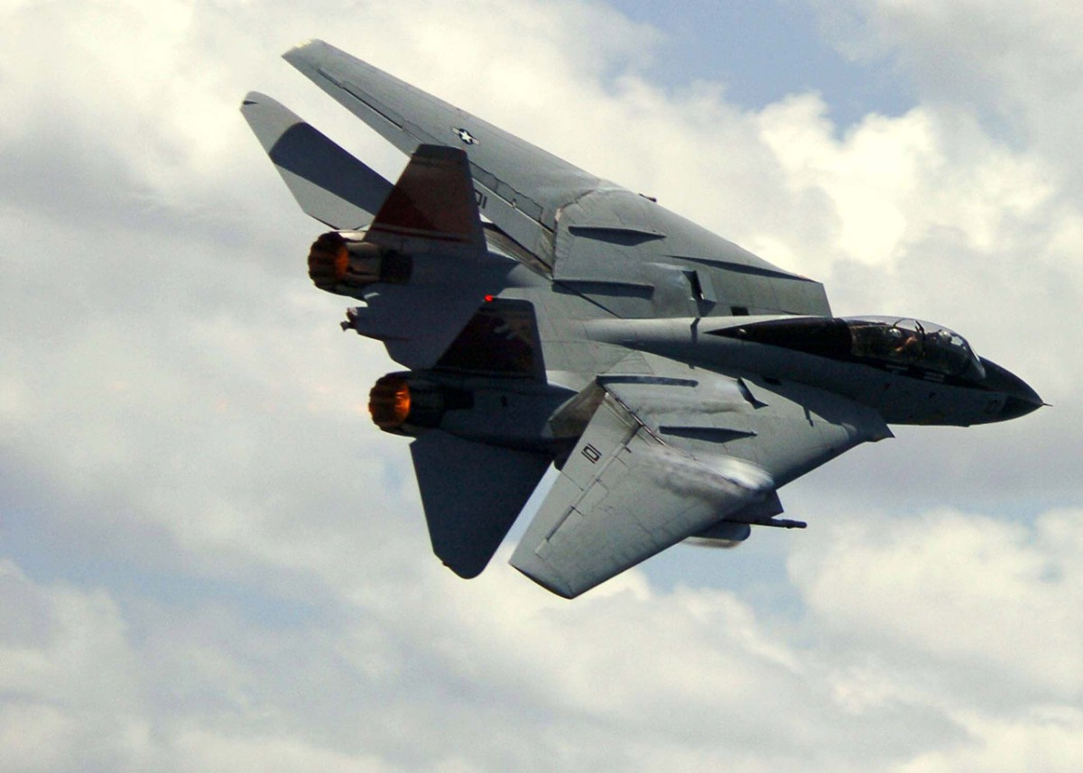 U S  Navy's Last F-14 Tomcat Flight, On This Day, In 2006