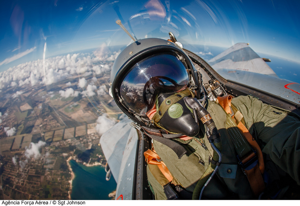This stunning fighter pilot selfie could be one of the last