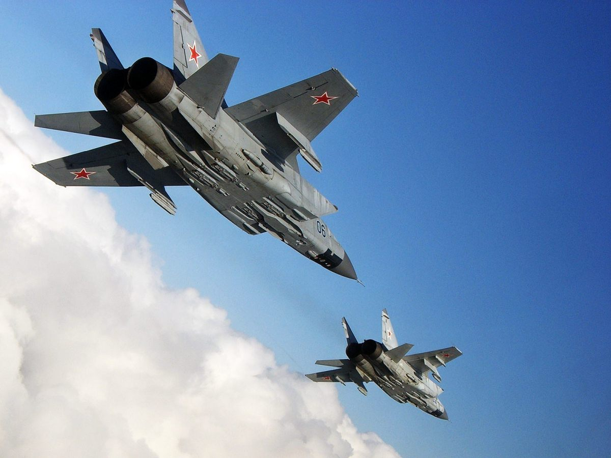 How the Mig-31 repelled the SR-71 Blackbird from Soviet skies