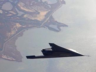 An unbelievable image proves the shape of the B-2 stealth