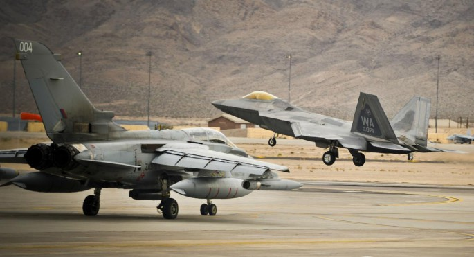 F-22 and Tornado