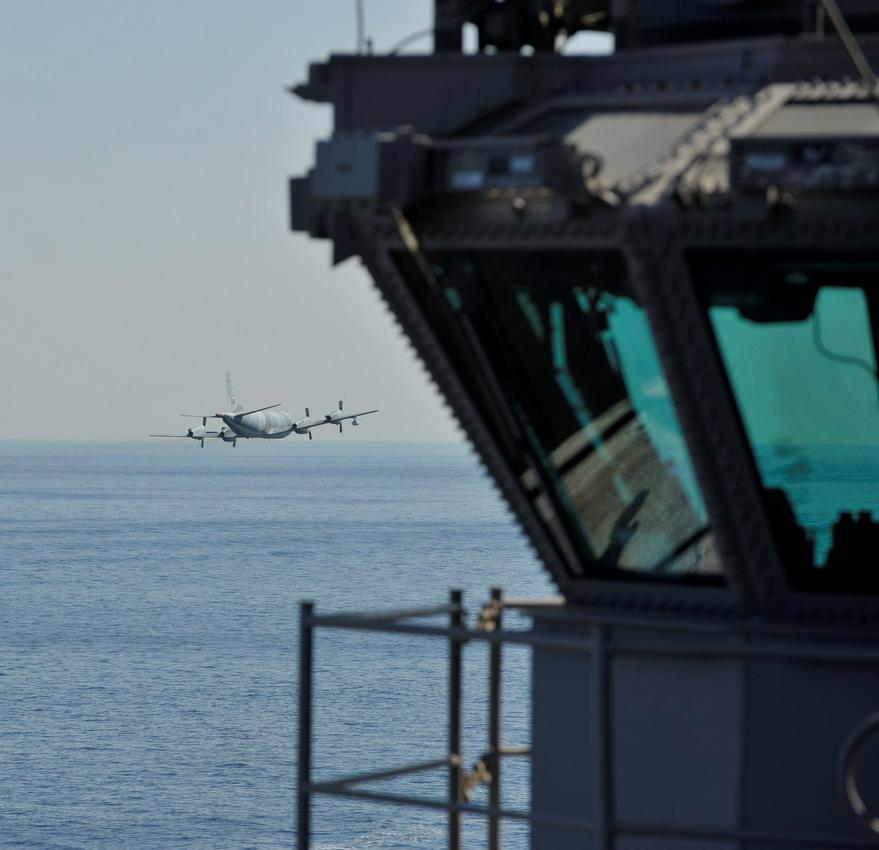 "Photo] Iranian P 3F maritime patrol plane ""buzzes"" U.S."