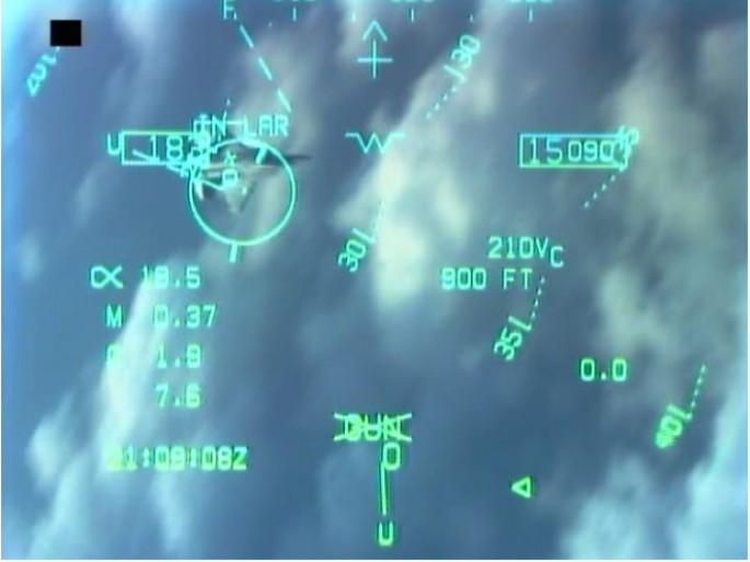 F-22 crosshairs