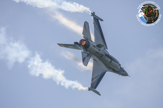 F-16 BAF turn and burn