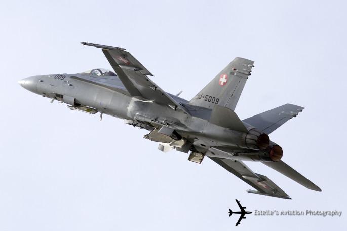 SAF F-18