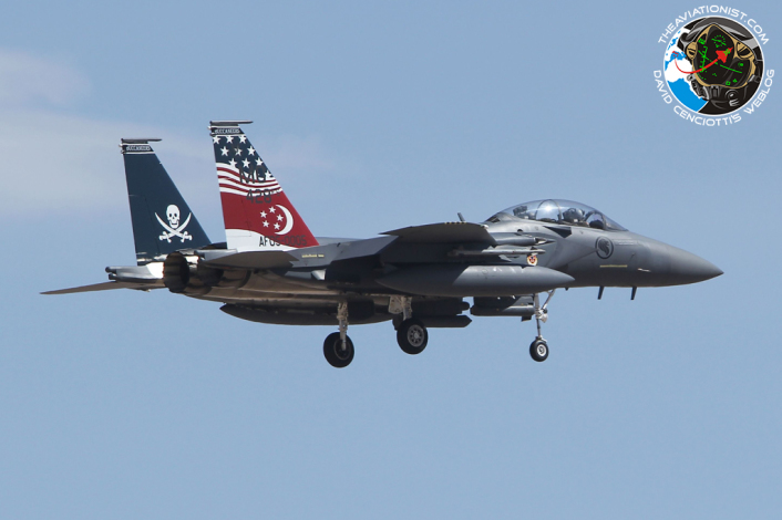 05-0005:428 FS-MO. F-15SG. Republic Singapore Air Force. Nellis AFB. 17.07.2014