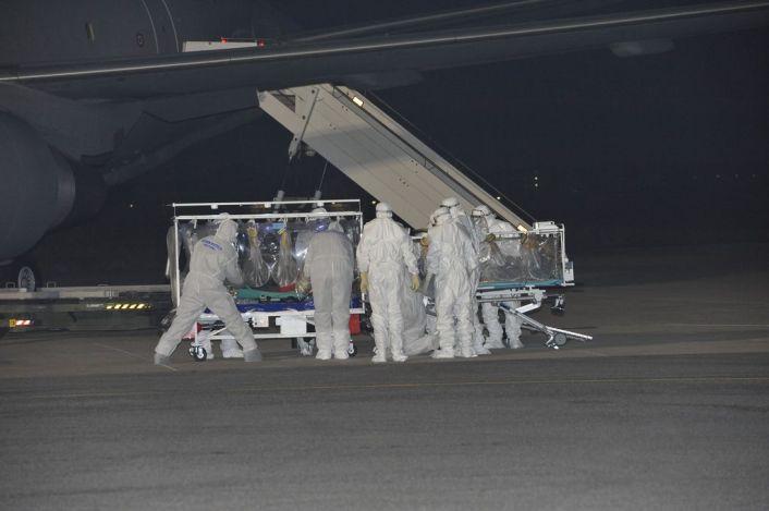 Ebola flight