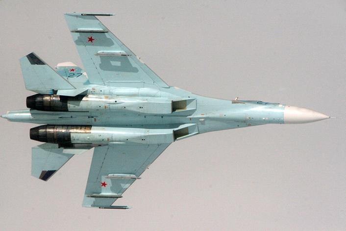 Su-27 in Crimea