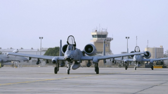 US A-10 Ahmed al Jaber Air Base