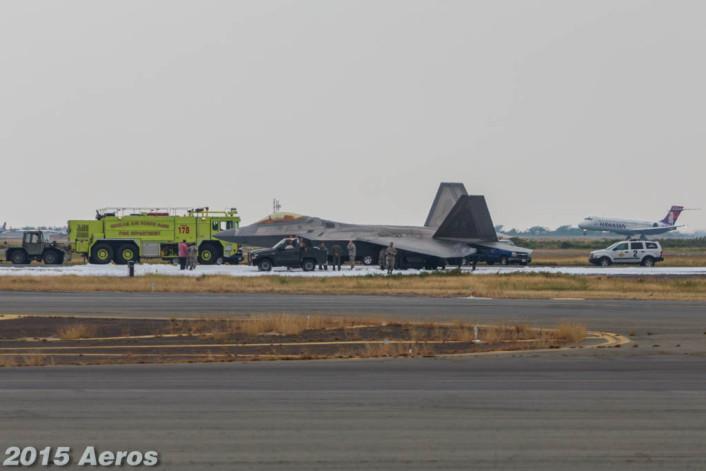 F-22 mishap