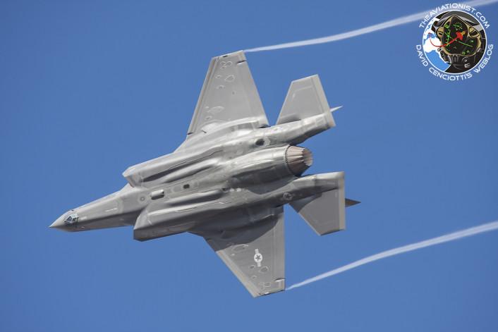 F-35 turn and burn