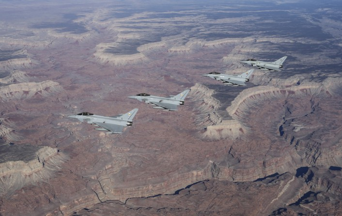 Typhoons over Gran Canyon no snow