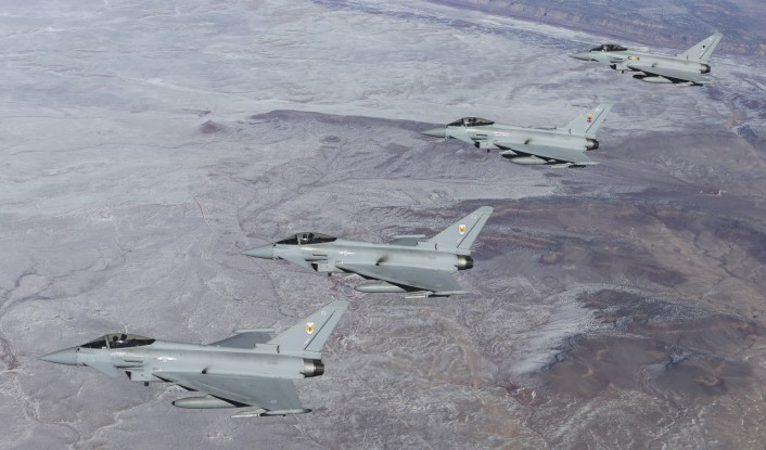 Typhoons over Gran Canyon snow
