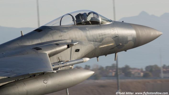 F-15C close up