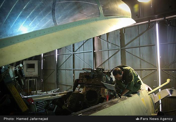 F-14 IRIAF overhauled 4