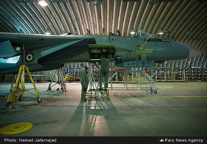 F-14 IRIAF overhauled top