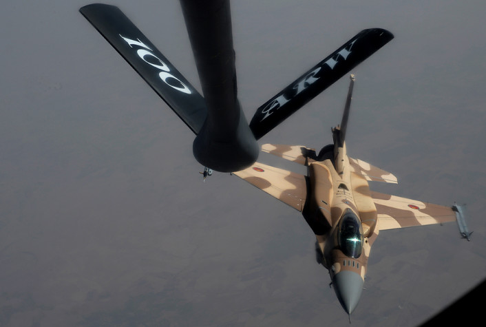 RMAF F-16 break