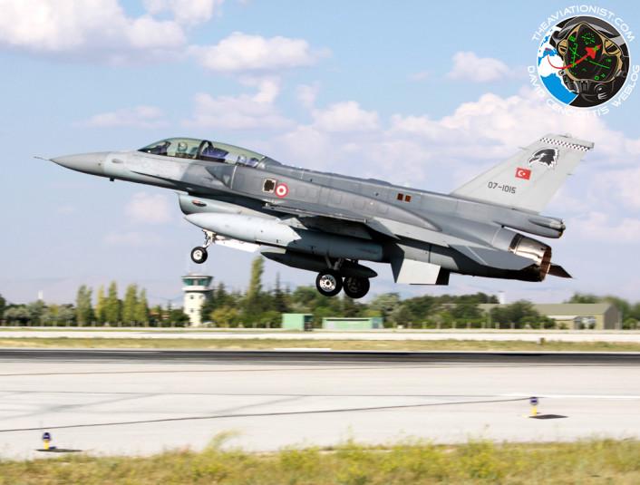 07-1015 F-16D-50-CF 161 Filo