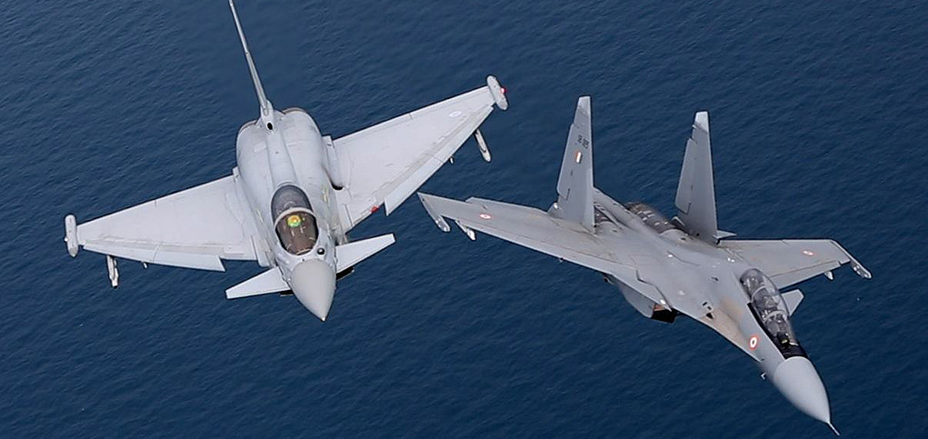 """Have Indian Su-30s really """"dominated"""" RAF Typhoons in aerial"""