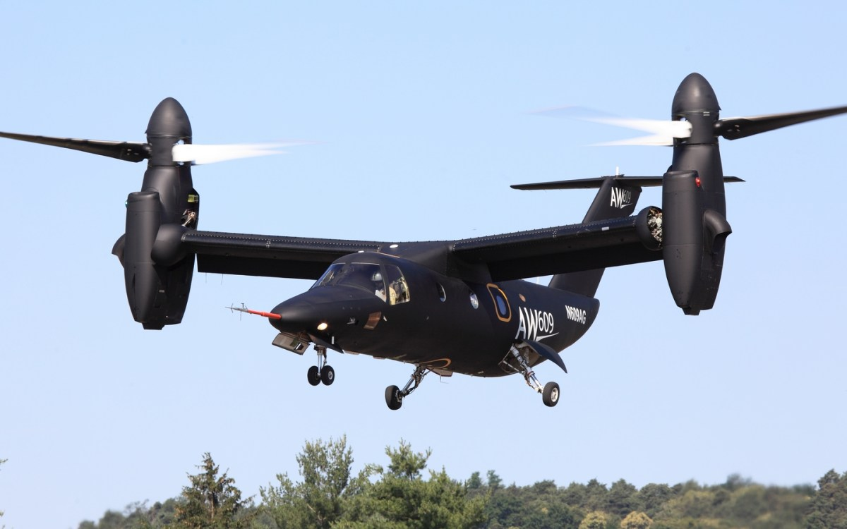 AgustaWestland AW609 tilt-rotor prototype aircraft crashes in Italy killing two test pilots