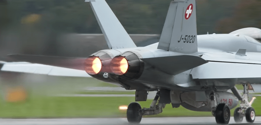 Super cool video shows the rehearsal of Axalp 2015 live firing exercise