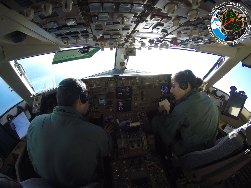 We have taken part in an aerial refueling mission during