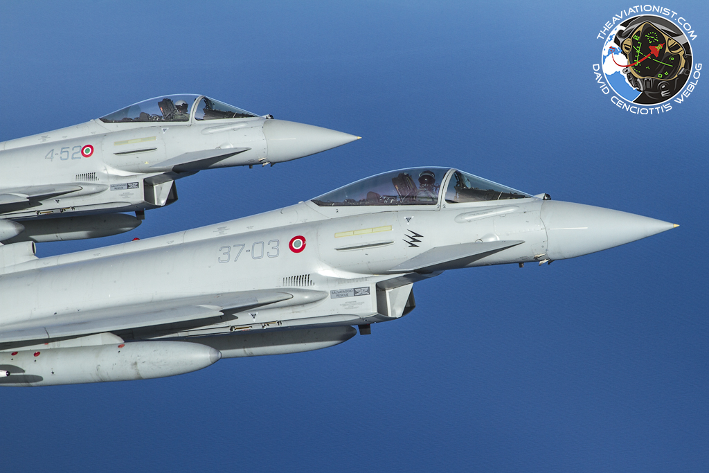 Italian Typhoons Deploy To Romania To Augment Romanian Air
