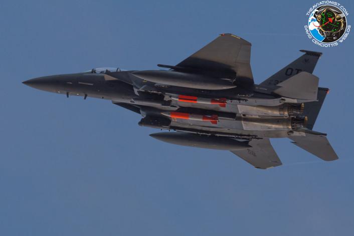 F-15E nuke take off
