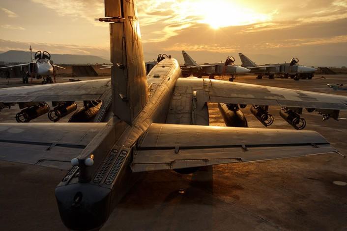 Su-25 dusk