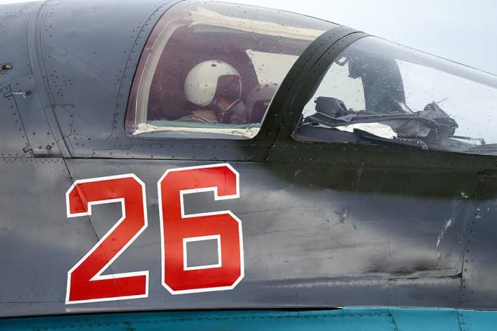 Su-34 aircrew