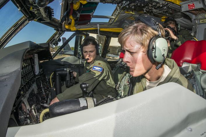 B-52 female cockpit