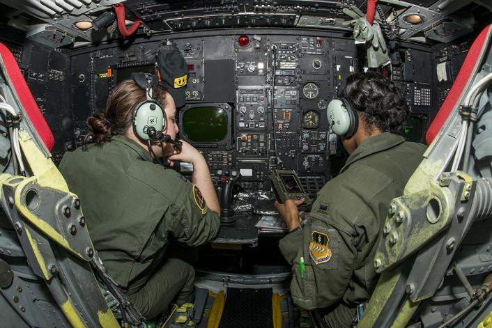 B-52 female crew