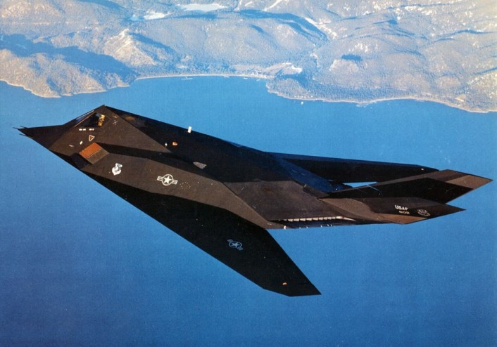 Downed F-117