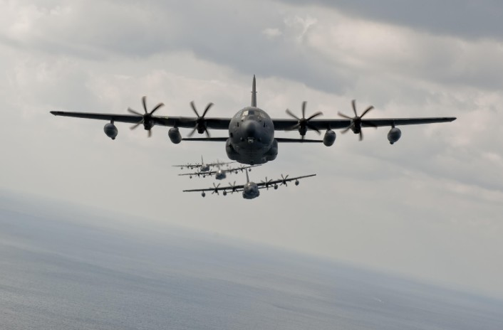 MC-130J formation flying