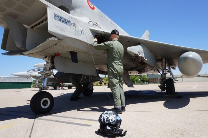 Eurofighter del XII Gruppo Caccia Intercettori