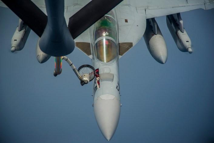 VAQ-138 Clark AFB refuel